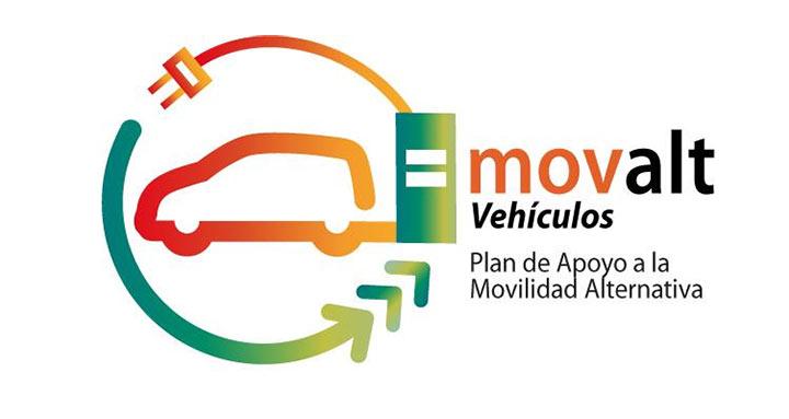 Plan Movalt Infraestructuras de recarga vehículos eléctricos