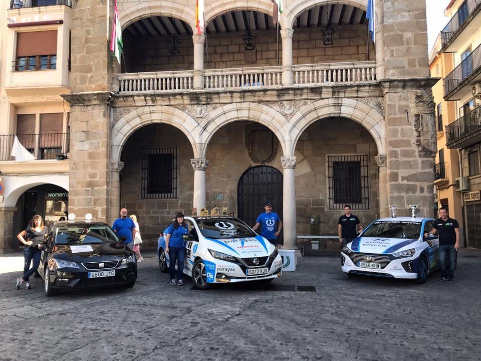 El Eco Rallye de Extremadura finaliza en Plasencia con triunfos de Eneko Conde, Lucas Pérez y José María Prieto