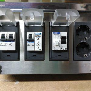 CAJA metálica de RECARGA | Sobretensiones y diferencial A incluido
